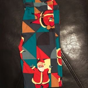 LuLaRoe kids holiday leggings